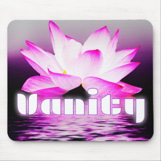 Vanity mouse pad