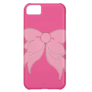 Vanity Pink Bow iPhone 5 Phone Case Case For iPhone 5C