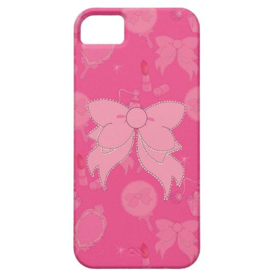 Vanity Pink Bow iPhone 5 Phone Case