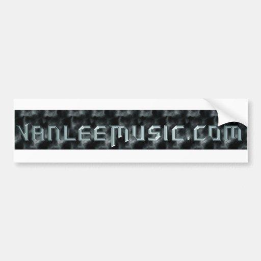 vanleemusic pegatina de parachoque