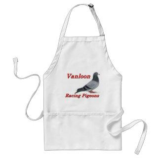 Vanloon Racing Pigeons Adult Apron