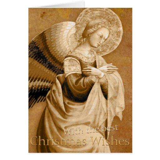 Vanni Annunciation Angel CC0592 Christmas Card