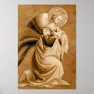 Vanni Annunciation Angel CC0594 Poster