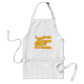Vans For Candy Adult Apron