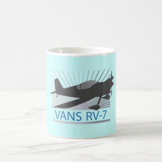 Vans RV-7 Airplane Coffee Mug