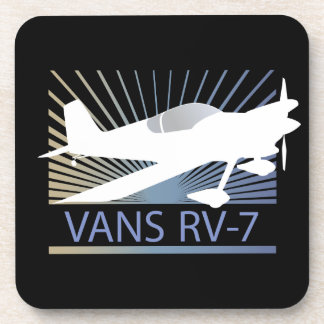 Vans RV-7 Airplane Drink Coaster