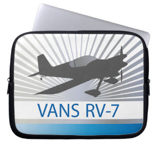 Vans RV-7 Airplane Laptop Sleeve