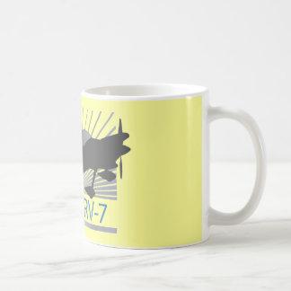 Vans RV-7 Airplane Coffee Mugs