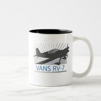 Vans RV-7 Airplane Mugs