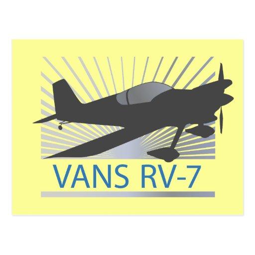 Vans RV-7 Airplane Postcard