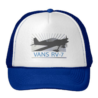 Vans RV-7 Airplane Trucker Hat