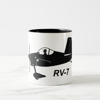 Vans RV-7 Caricature Two-Tone Coffee Mug