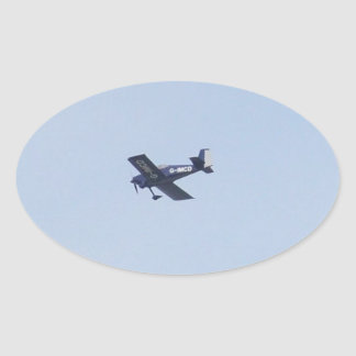 Vans RV-7 Light Airplane Oval Sticker
