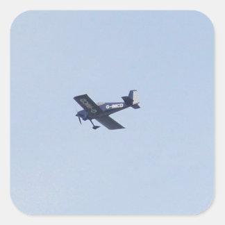 Vans RV-7 Light Airplane Square Sticker