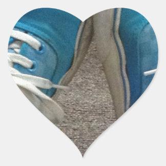 vans shoes blue sticker