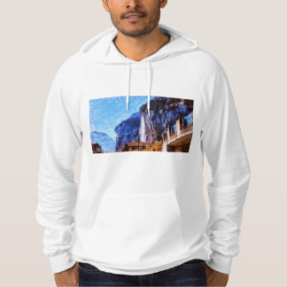 Vantage point for view hoodie