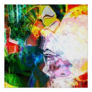 Vantrilaquist Dummies Bubblegum Bubble Poster