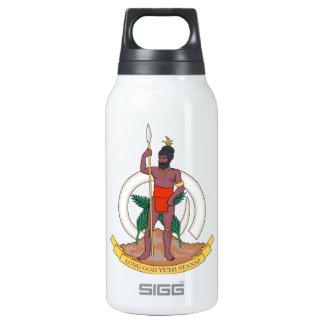 Vanuatu Coat of Arms Thermos Water Bottle