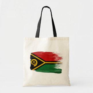 Vanuatu Flag Canvas Bags