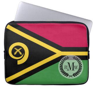 Vanuatu Flag Computer Sleeve