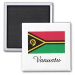 Vanuatu Flag Design Fridge Magnets
