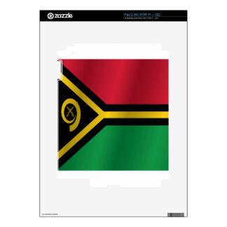 Vanuatu flag iPad 2 decal