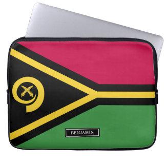 Vanuatu Flag Laptop Sleeve