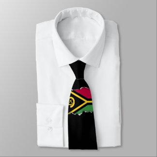 Vanuatu Flag Neck Tie