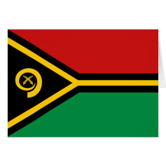 Vanuatu Flag Notecard