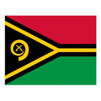 Vanuatu Flag Postcard