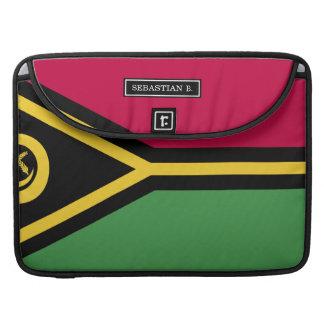 Vanuatu Flag Sleeve For MacBook Pro