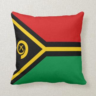 Vanuatu Flag x Flag Pillow