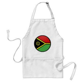 Vanuatu quality Flag Circle Adult Apron