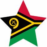 Vanuatu Star Photo Cut Out