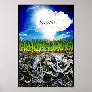 Vape Breathe Poster