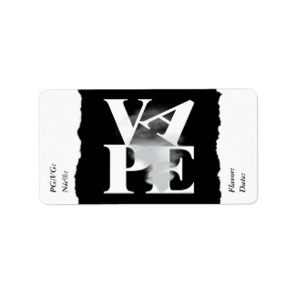 Vape | DIY E-Juice Label LOVE VAPE by VapeGoat