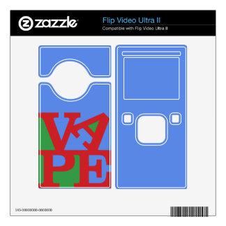 Vape Flip Video Ultra II skin