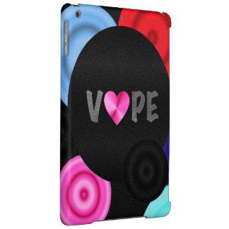Vape Heart Floating Dots iPad Air Cases