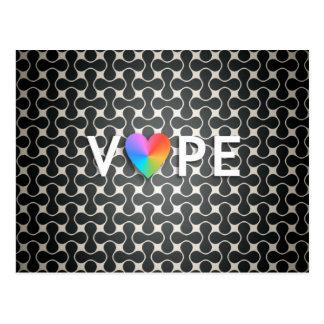 Vape Heart Postcards