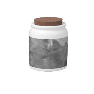 Vape Lady Smoking Hot Design Candy Jars