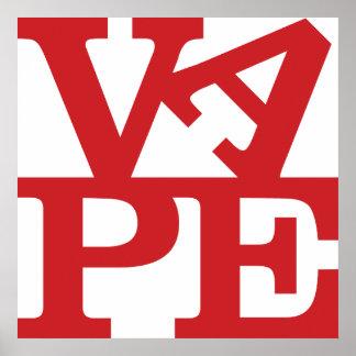 Vape Letters print