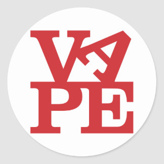 Vape Letters sticker