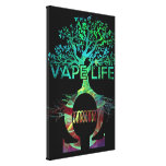 Vape Life Canvas Gallery Wrapped Canvas