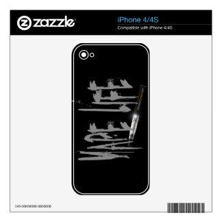 Vape Life Skin For iPhone 4