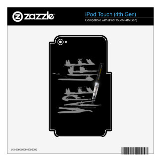 Vape Life Decals For iPod Touch 4G