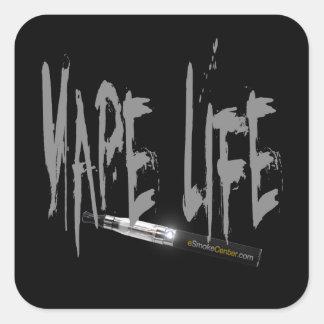 Vape Life! Square Sticker