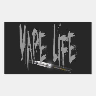 Vape Life Rectangle Sticker