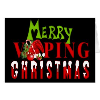 VAPE | Merry Vaping Christmas Card