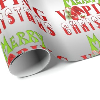 VAPE | Merry Vaping Christmas Wrapping Paper