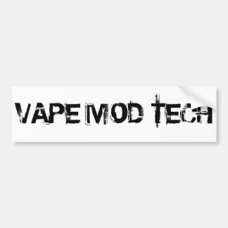 VAPE MOD TECH BUMPER STICKER